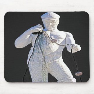 Fisherman and Nets (2) Mouse Pads