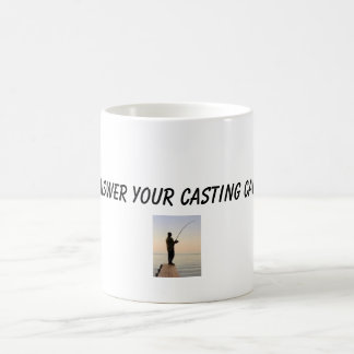 fisherman, Answer your casting call! Classic White Coffee Mug