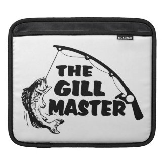 Fisherman As The Gill Master Sleeve For iPads