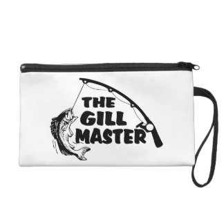 Fisherman As The Gill Master Wristlet Purse