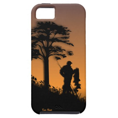 Fisherman at Dusk iPhone 5 Personal case iPhone 5 Case