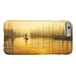 fisherman at sunrise print for iPhone 6/6s case