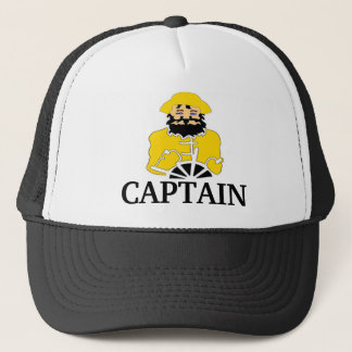 Fisherman Boat Captain Trucker Hat