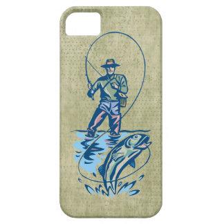 Fisherman catch grunge iphone 5 case