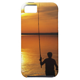 Fisherman catches fish by spinning iPhone SE/5/5s case