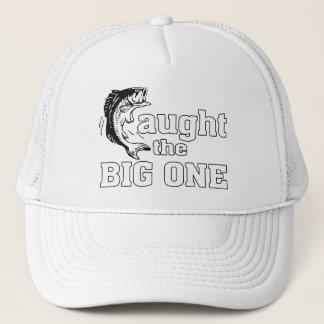 Fisherman Caught The Big One Trucker Hat