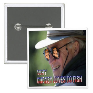 Fisherman Cheney Button