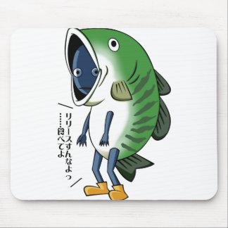 Fisherman English story Kinugawa Tochigi Mouse Pad