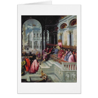 Fisherman Giving the Ring to the Doge of Venice Card