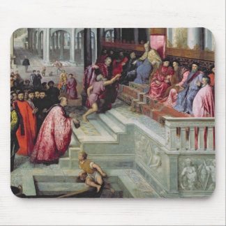 Fisherman Giving the Ring to the Doge of Venice Mouse Pad
