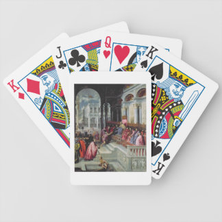 Fisherman Giving the Ring to the Doge of Venice Poker Cards