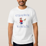 FISHERMAN, Old Fishermen Never Die T-Shirt