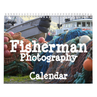 Fisherman Photography Calendar
