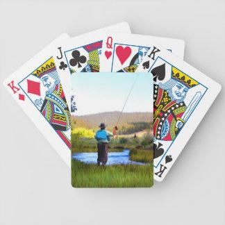 FISHERMAN PLAYING CARDS