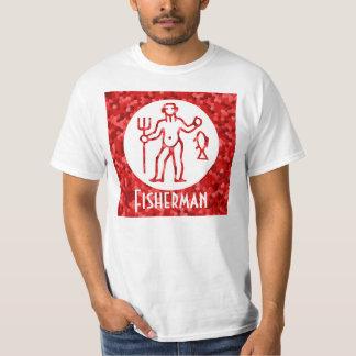 Fisherman Redstone Graphic T-Shirt