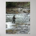 Fisherman River Isaiah 41:10 Print
