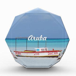 Fisherman's Hut Beach Acrylic Award
