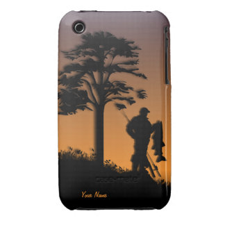 Fisherman Sport Personalized  iPhone 3G/3GS Case iPhone 3 Cover
