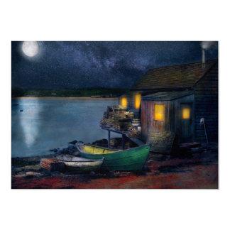 Fisherman - The Fisherman's Cabin 1915 Card