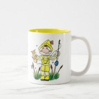 Fisherman Two-Tone Coffee Mug
