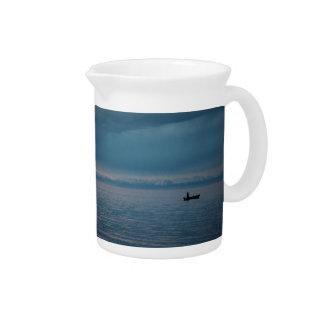 FishermanOn solo la jarra del mar