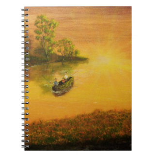 """""""Fisherman's Alley"""" by Jack Lepper Note Book"""