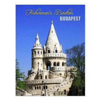 Fisherman's Bastion, Castle District, Budapest Postcard