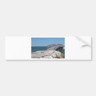 Fisherman's Bridge Bumper Sticker