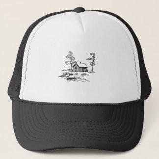 Fisherman's Cabin - Fishing Cottage Trucker Hat