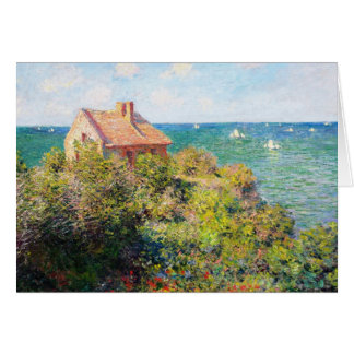 Fisherman's Cottage at Varengeville Claude Monet Card