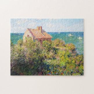 Fisherman's Cottage at Varengeville Claude Monet Jigsaw Puzzle