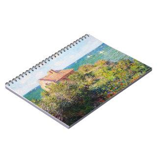 Fisherman's Cottage at Varengeville Claude Monet Spiral Notebook