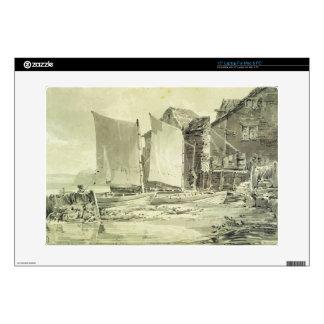 Fisherman's Cottage, Dover, 1790s (pencil & grey w Laptop Skins