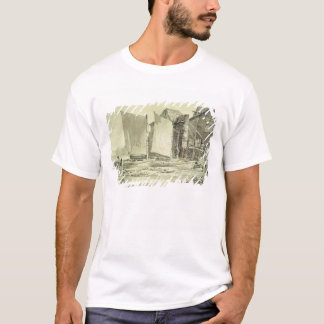 Fisherman's Cottage, Dover, 1790s (pencil & grey w T-Shirt
