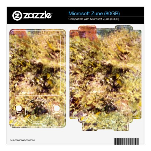Fisherman's Cottage on a Cliff by Claude Monet Zune Skin
