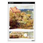 Fisherman's Cottage on a Cliff by Claude Monet Xbox 360 S Skins