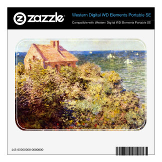 Fisherman's Cottage on a Cliff by Claude Monet WD Elements SE Skins