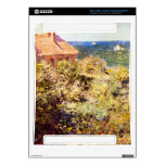Fisherman's Cottage on a Cliff by Claude Monet Skin For Xbox 360 Console