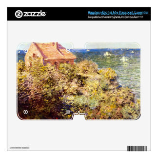 Fisherman's Cottage on a Cliff by Claude Monet WD My Passport Skin
