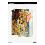 Fisherman's Cottage on a Cliff by Claude Monet Skin For iPad 2