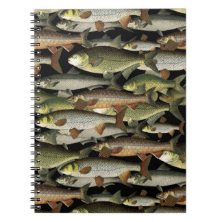 Fisherman's Fantasy Spiral Notebook