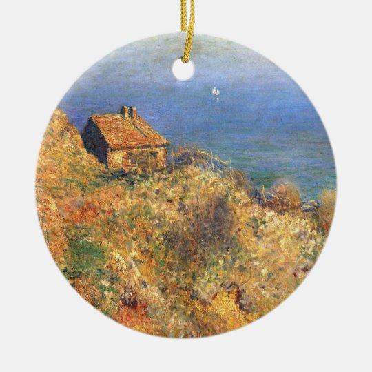 Fisherman's House at Varengeville Ceramic Ornament