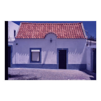 Fisherman's House in Portugal Posters