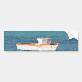 Fisherman's Hut Beach Bumper Sticker