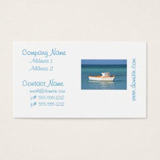 Fisherman's Hut Beach Business Card