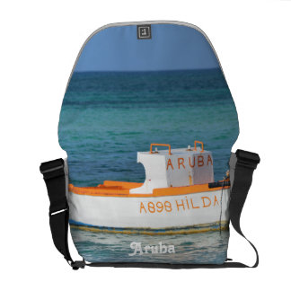 Fisherman's Hut Beach Courier Bag