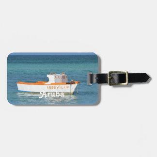 Fisherman's Hut Beach Luggage Tag