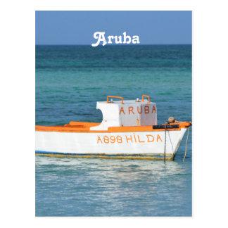 Fisherman's Hut Beach Postcard