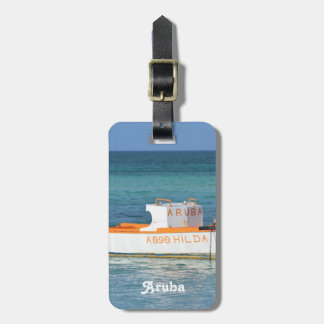 Fisherman's Hut Beach Tag For Luggage
