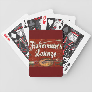 fisherman's lounge deck cards bicycle playing cards